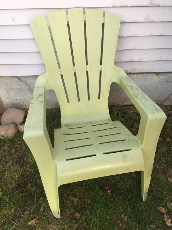 Free outside lounge chair