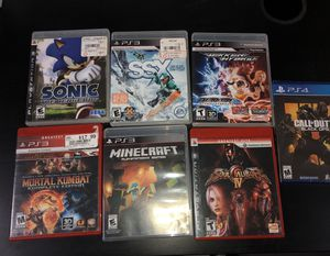 PS3 Game & 1 PS4 Game for Sale in Schaumburg, IL
