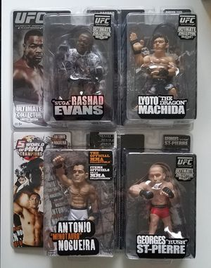 Round 5 mma ufc action figures for Sale in South San Francisco, CA