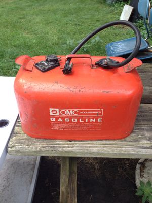 Vintage 6 gallon gas can for Outboard Boat Motor for Sale in Arlington Heights, IL