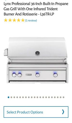"""Lynx 36"""" professional built in gas grill for Sale in Frisco, TX"""
