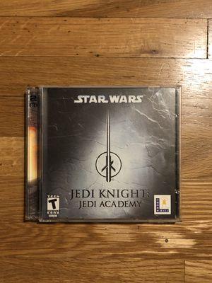 Star Wars Jedi Knight: Jedi Academy - PC, one disc for Sale in Los Angeles, CA
