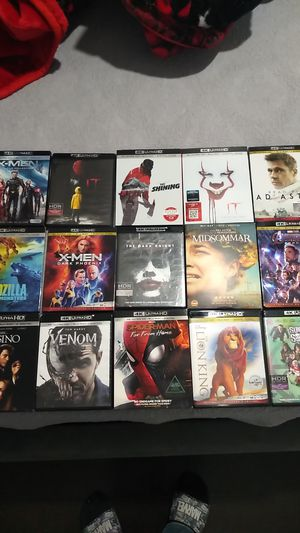 4k movies for Sale in Long Beach, CA