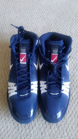 New Nike Freek Wrestling Shoes Navy Blue & White 316403 411 Size 13 for Sale in Murrieta, CA