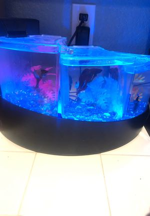 Three tier waterfall beta fish tank for Sale in Lancaster, CA