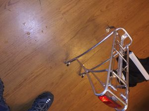 Rear bike rack aluminium for Sale in San Francisco, CA