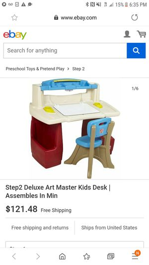 Kids art desk for Sale in South San Francisco, CA