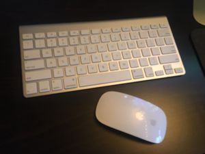 Apple keyboard and mouse for Sale in Spokane, WA