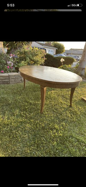 Antique wooden COFFEE TABLE for Sale in San Jose, CA