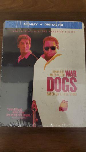 War Dogs Steelbook Blu-ray + Digital Code true story. Brand new still in factory seal for Sale in Rancho Cucamonga, CA