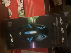 Computer mouse wired Changing Led Gaming Mouse for Sale in Lakewood, CA