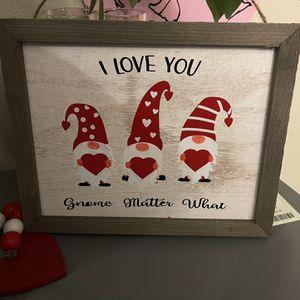 Gnome valentine for Sale in Vancouver, WA