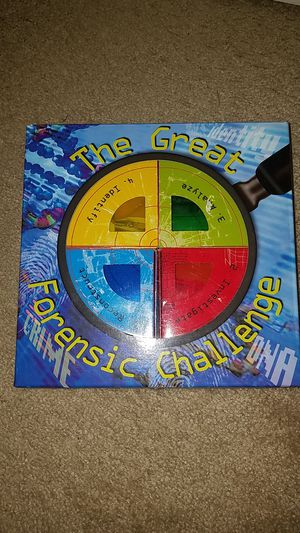 Great forensic challenge game for Sale in Troy, MI