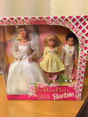Wedding Party Barbie for Sale in Plainfield, IL