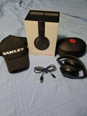 Beats Studio Wireless And Oakley Hat for Sale in Garland, TX