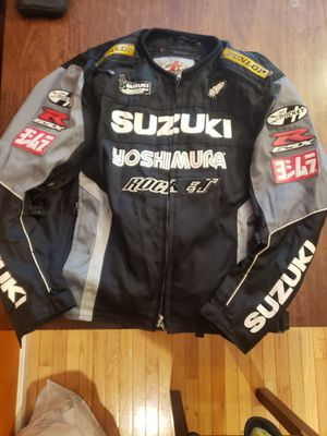 Suzuki Textile Motorcycle Jacket 2XL for Sale in Leominster, MA