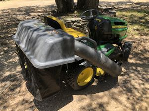 John Deere Riding Lawn Mower Grass Catcher for Sale in Austin, TX