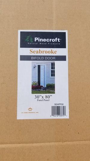 2x bifold doors by pinecroft 30x80 for Sale in Martinez, CA