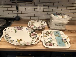 19 piece dessert/entertaining set for Sale in Arlington, VA