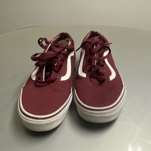 Burgundy Vans (Size 10.5) for Sale in Discovery Bay, CA