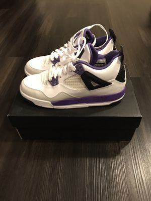Jordan 4 Retro Girls Size 5.5 for Sale in Silver Spring, MD