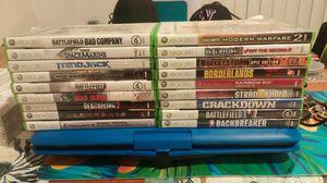 Xbox 360 (18 GAMES) for Sale in Burien, WA