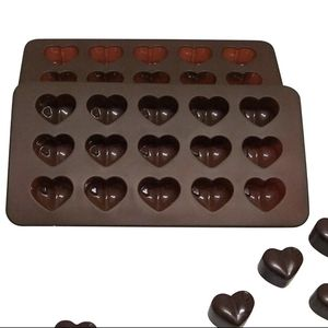 Set of 2 Chocolate Silicone Heart Molds for Sale in Los Lunas, NM