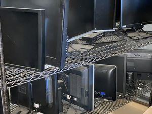 DELL and HP computer monitors for Sale in Modesto, CA