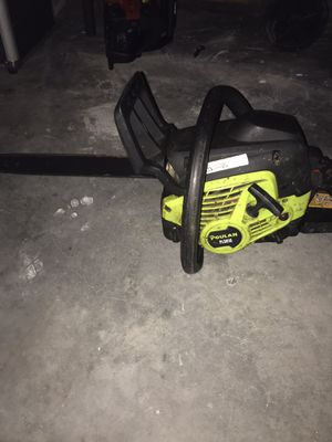 2 chainsaw both work the red on just need carburetor clean $125 for both for Sale in Winter Haven, FL