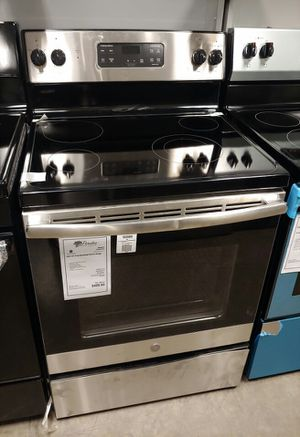 New GE Stainless Steel Electric Glass Top Stove Oven..1 Year Manufacturer Warranty for Sale in Gilbert, AZ