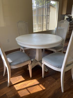 Kitchen table + 4 chairs solid wood for Sale in San Clemente, CA
