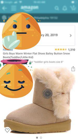 Little girls boots for Sale in Philadelphia, PA