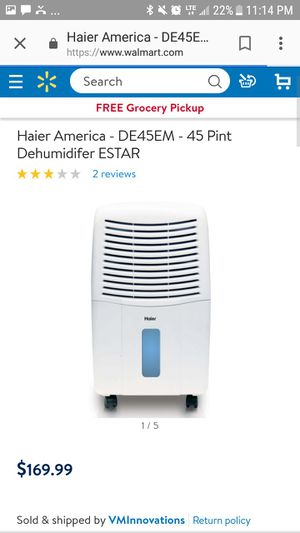 Haier Dehumidifier for Sale in Rosemead, CA