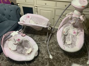 3 piece fisher price swing set for Sale in Fresno, CA