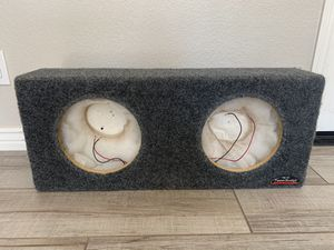 JL powerwedge box for two 10 inch subwoofers for Sale in Gilbert, AZ