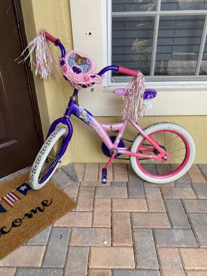 "Disney Princess 16"" Girls Bike for Sale in Boynton Beach, FL"