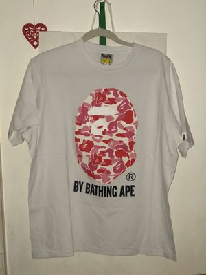 BAPE ABC By bathing ape white/pink for Sale in Boston, MA