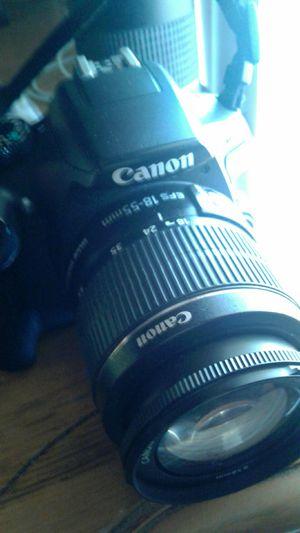 Canon camra for Sale in Dallas, TX