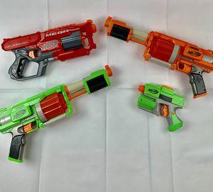 4 Nerf guns for Sale in Chula Vista, CA