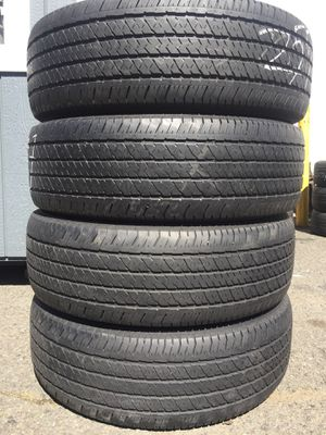 255/70/17 Bridgestone set of used tires in great condition 70% tread 200$ for 4 . Installation balance and alignment available. Road force balance a for Sale in Union, NJ