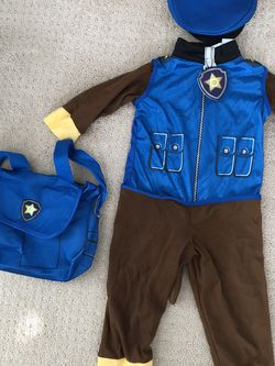 Paw Patrol Costume For Boys Between 3 To 4 Years Old for Sale in Cypress,  CA