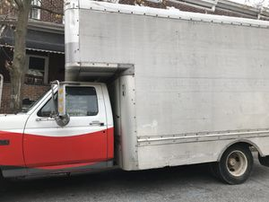 96' Ford F-350 Uhaul Box trick for Sale in Baltimore, MD