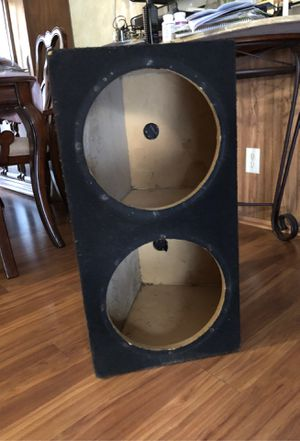 Speaker box for 12s for Sale in Walkertown, NC