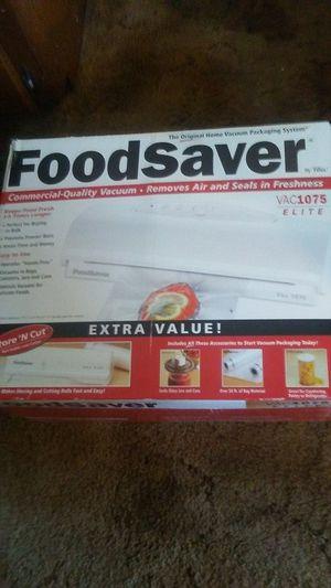 Food Saver 1074 Elite Electric Vacuum Sealer for Sale in Oroville, CA