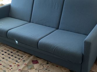 Sofa Sleeper - Blue/green Converts To Twin Size for Sale in South Salt Lake,  UT