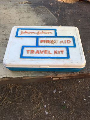 Vintage first aid kit for Sale in San Benito, TX