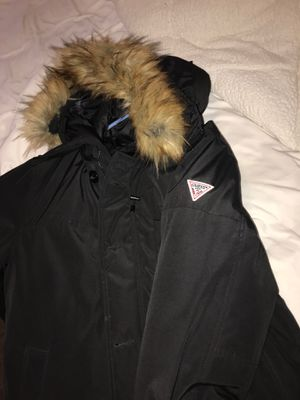 Men's Hooded Parka with Removable Fur for Sale in Hyattsville, MD
