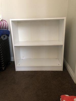 White bookcase for Sale in North Las Vegas, NV