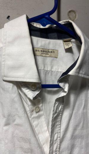 Men's Burberry dress shirt size small for Sale in Phoenix, AZ