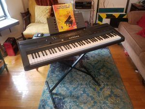 Casio WK-110 Keyboard and Stand for Sale in Boston, MA